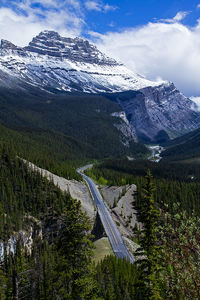 Canadian Rocky Mountains.