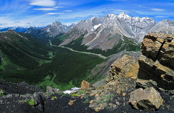 Highwood Pass, Canadian Rockies, Grizzly col, Kananaskis