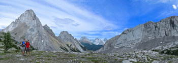 Burstall Pass,Peter Lougheed Provincial Park, Kananaskis Country, Alberta