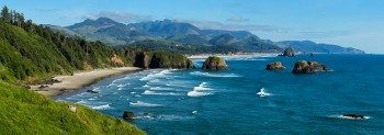 Ecola State Park, Pacific Ocean, Oregon Coast, Cannon Beach.