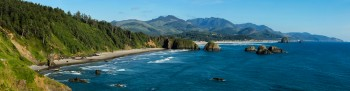 Ecola State Park, Pacific Ocean, Oregon Coast, Cannon Beach.
