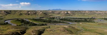 Milk River, Sweetgrass Hills
