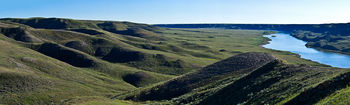 Majorville, native grasslands, Bow River