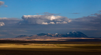West Butte, Sweet Grass Hills, Montana