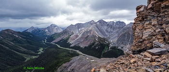 Grizzly Ridge, Peter Lougheed Provincial Park, Highwood Pass, Canadian Rockies