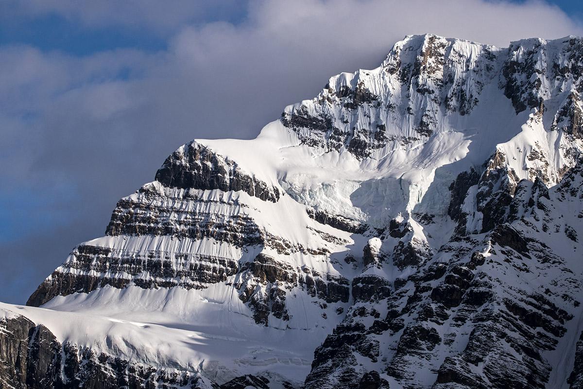 Mt Patterson and snowbird glacier